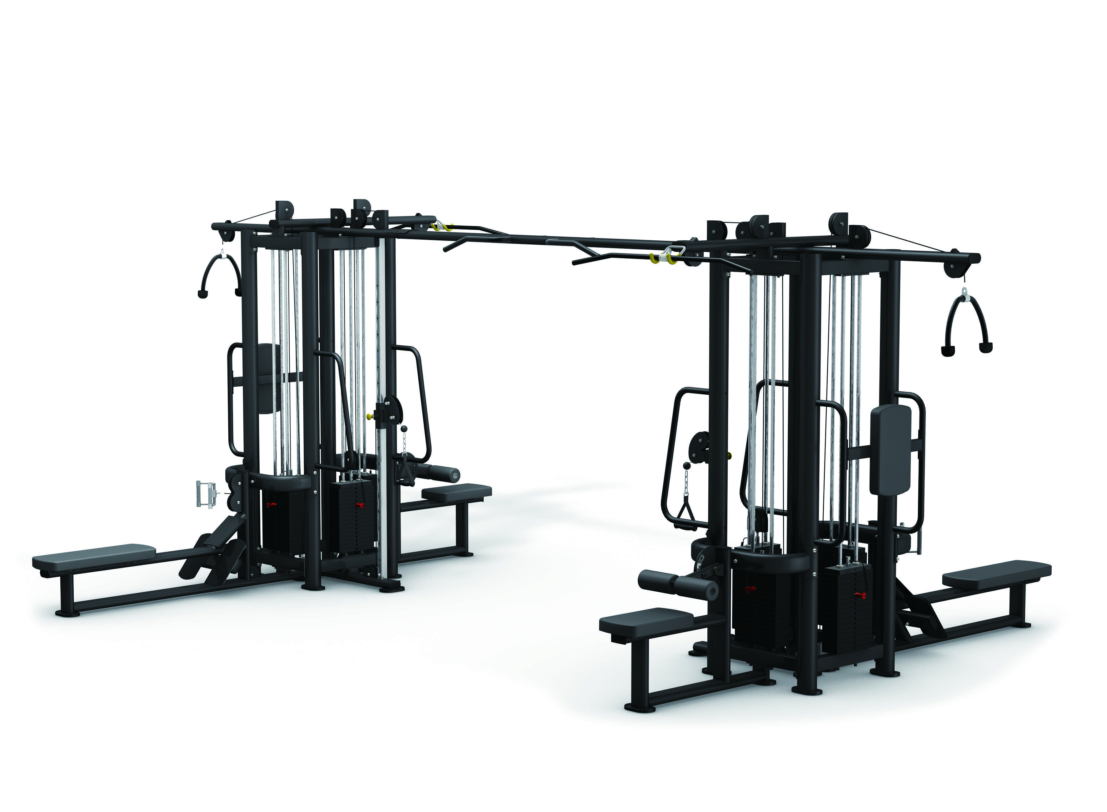 Extreme Core - Commercial 8 Stack Multi Jungle Gym ...