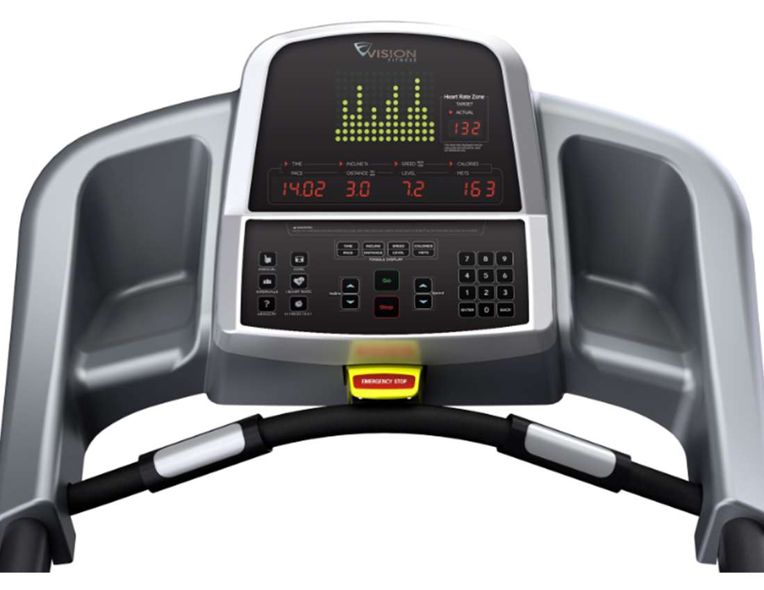 Vision T60 Commercial Treadmill Fitness Equipment Warehouse