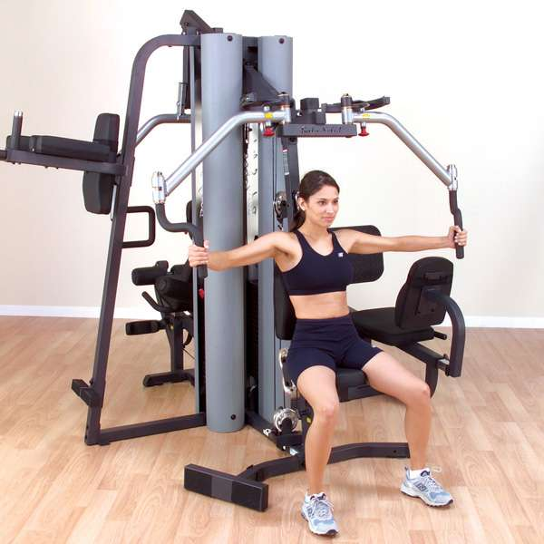 Commercial Gym Equipment India: Bodysolid G9S Two Weight Stack Home Gym