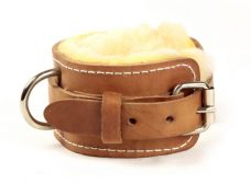 leather-sheep-skin-ankle-strap