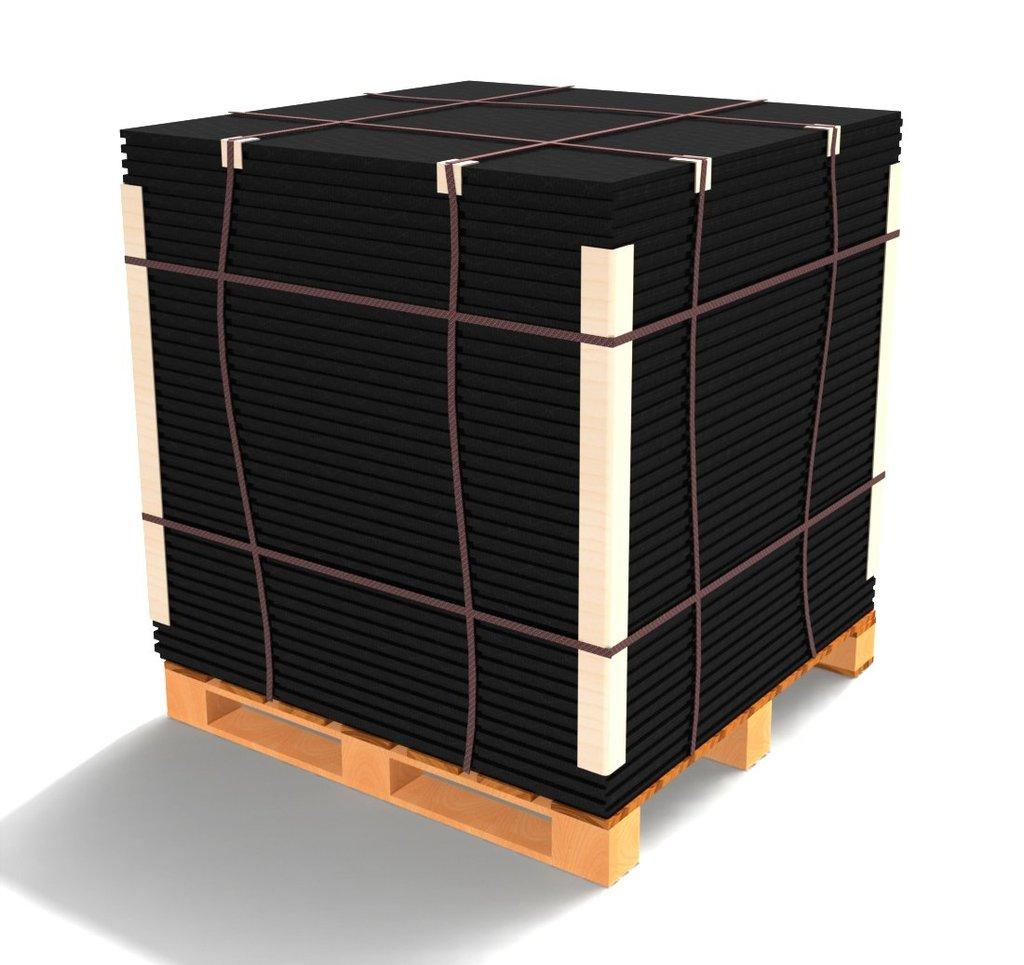 Extreme Core Black Interlocking Rubber Gym Flooring – 1 pallet 65pcs – $35each