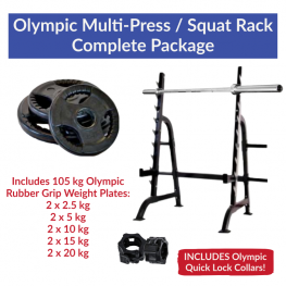 Olympic Squat Rack Package