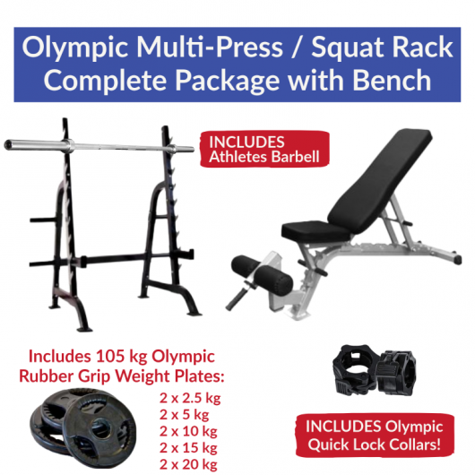 Squat + Bench Package